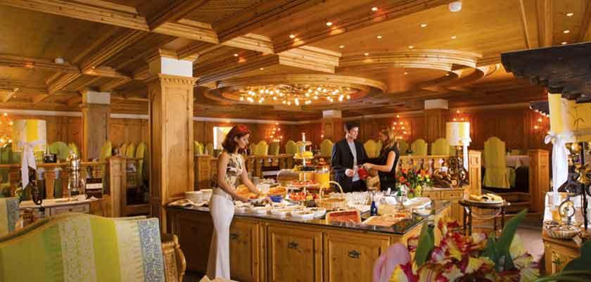 Hotel Alpenhof, Zermatt, Switzerland - restaurant buffet.jpg